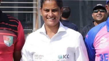 ICC Women's T20 World Cup 2020: India's GS Lakshmi Set to Become 1st Woman Match Referee at Global Event