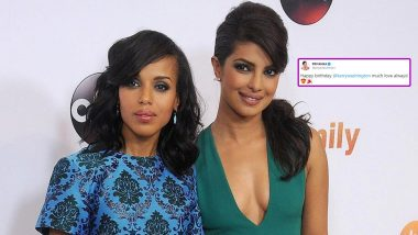 Priyanka Chopra Jonas' Wishes Django Unchained Star Kerry Washington a 'Happy Birthday' (Read Tweet)