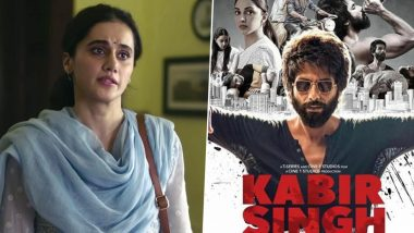 Taapsee Pannu Responds to Social Media Comments That Says Thappad is the Answer to Shahid Kapoor's Kabir Singh