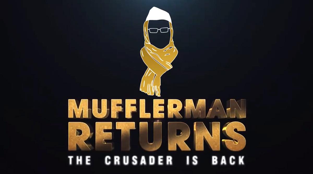 'Mufflerman Returns': AAP Launches Membership Drive, Depicts Arvind Kejriwal in Superhero Look in New Video