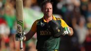 On This Day: ICC Recalls an AB De Villiers Masterclass From 2015 World Cup Archives, Fans Pray for South African Legend's International Return