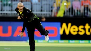 Ashton Agar Becomes Second Australian Bowler To Take a Hat-Trick in T20Is, Finishes With 5/25 As Australia Beat South Africa in 1st T20I