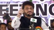 AIMIM Leader Waris Pathan Stokes Row, Says '15 Crore Muslims Can Overpower 100 Crore Majority'; Watch Video