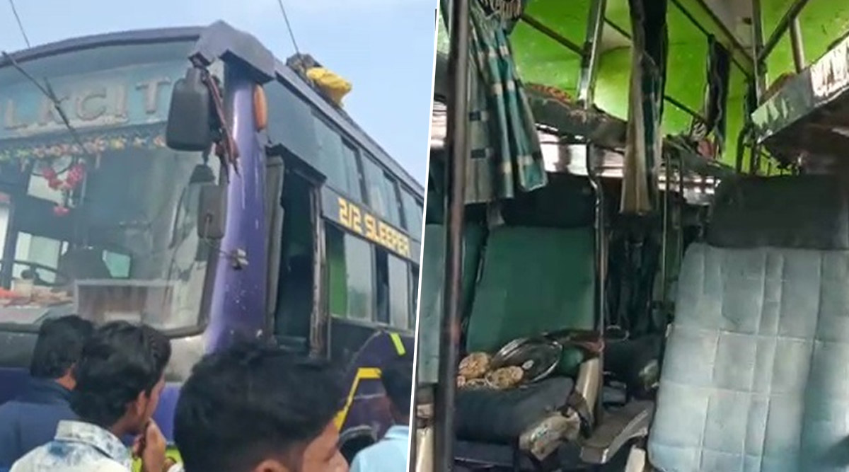Odisha: 6 Killed, Over 40 Injured as Bus Catches Fire in Ganjam District