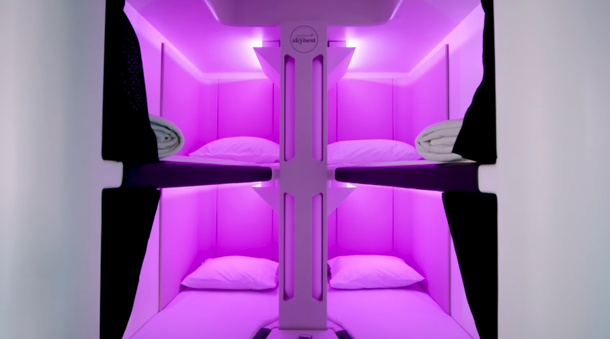 Air New Zealand Unveils Sleeping Pods for Economy Class so You Can Take A Nap on Long-Duration Flights, Watch Video