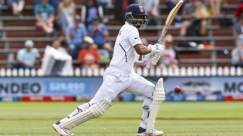 India vs New Zealand 1st Test 2020 Day 3 Match Report: Ajinkya Rahane, Hanuma Vihari Fight as Visitors End Day at 144/4
