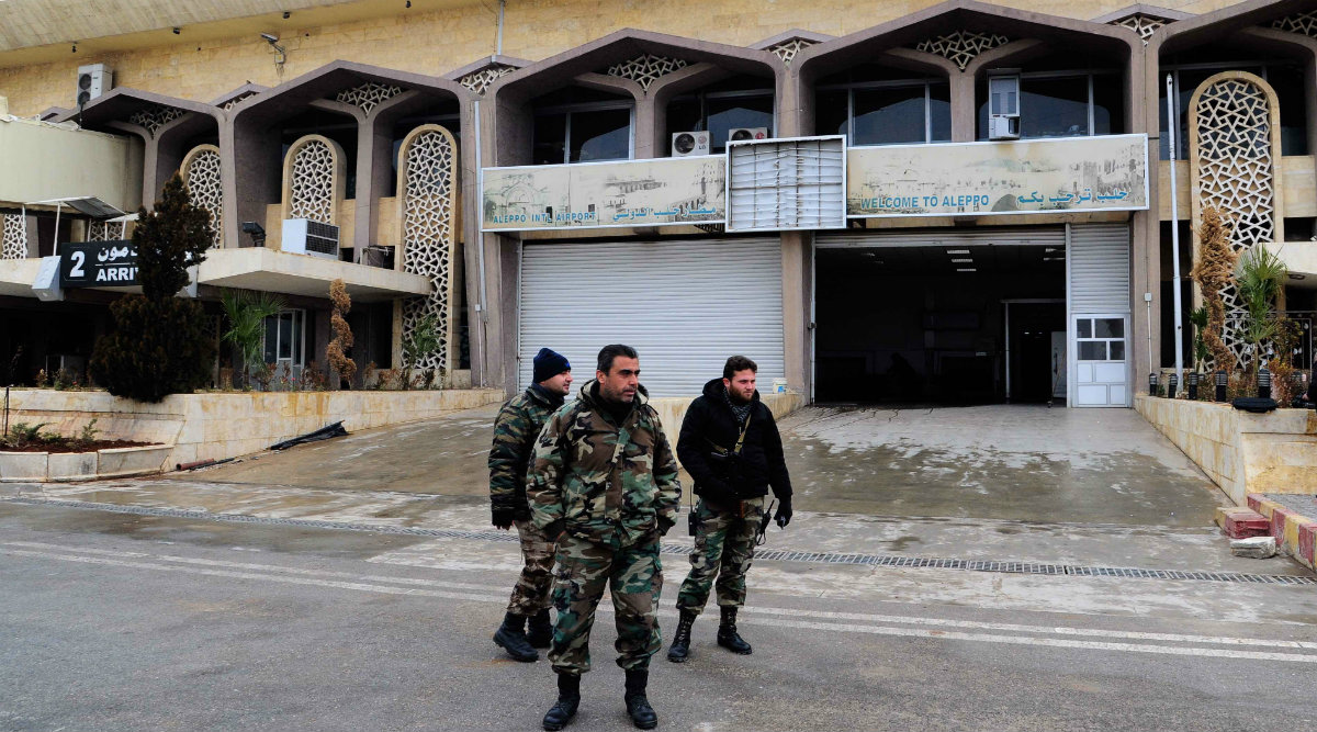Syria Reopens Aleppo Airport After Nearly 8 Years