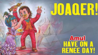 Oscars 2020: Amul Pays a Delicious Tribute to Winners Joaquin Phoenix and Renee Zellweger (View Pic)