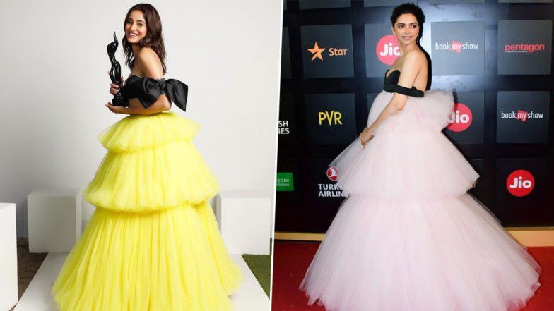 Diet Sabya Drops a Major Fashion Alert, Asks Fans if Ananya Panday's Filmfare 2020 Look Is a Copycat Version From Deepika Padukone's Closet?