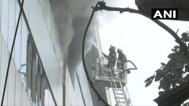 Mumbai: Fire Breaks Out at Commercial Building in East Andheri MIDC Area, Rescue Operation Underway