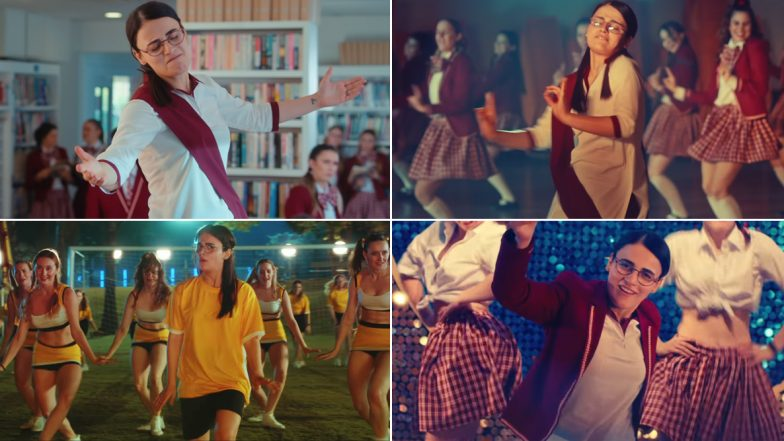 Angrezi Medium Song Nachan Nu Jee Karda: With Radhika Madan's Cool Thumkas, You'll Also Get See Hrithik Roshan, Shah Rukh Khan and Others in This Punjabi Track (Watch Video)