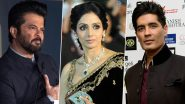 Sridevi's Second Death Anniversary: Anil Kapoor, Manish Malhotra and More Bollywood Celebs Post Their Condolences and Memories of the Evergreen Actress