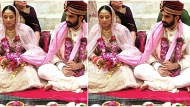 Ankit Siwach and Nupur Bhatia Look Picture Perfect In Their Wedding Pictures