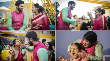 Ankit Siwach Marries Girlfriend Nupur Bhatia In Uttarakhand, Haldi Pictures Out Now