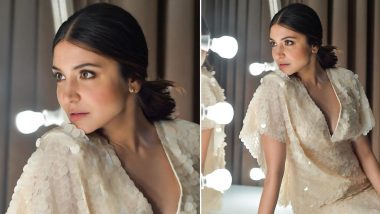Anushka Sharma Mesmerizes in a Mermaid Sequined Dress With a Sublime Charm in Tow!