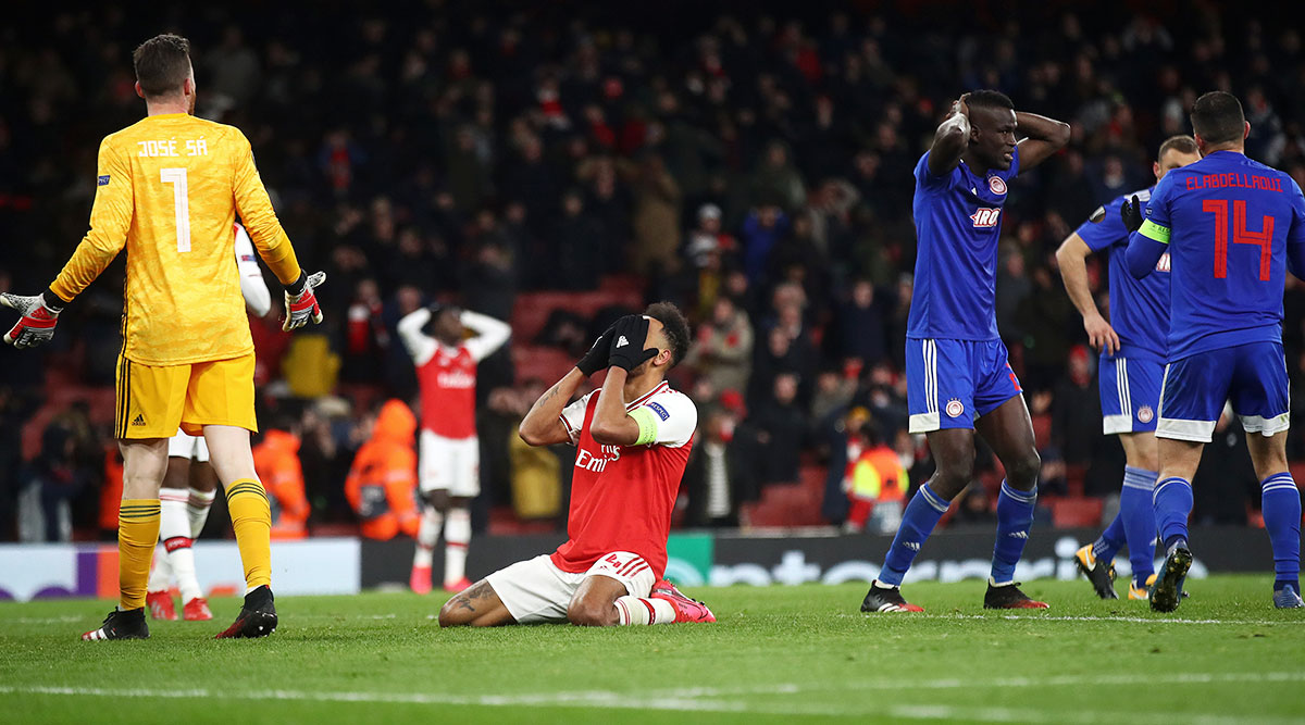 Arsenal Knocked Out of Europa League by Olympiacos, Netizens Troll Gunners for Embarrassing Defeat