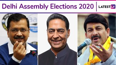Delhi Assembly Elections 2020: Voting Today on 70 Seats, Around 1.47 Crore Voters to Decide Fate of 672 Candidates