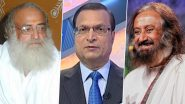 #BoycottAapkiAdalatShow And #IStandWithRajatSharma Trend on Twitter After Rajat Sharma Asks Sri Sri Ravi Shankar Questions on Asaram, Watch Video