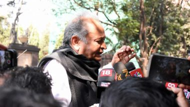 'BJP Running Show, Nothing in Sachin Pilot's Hands,' Says Rajasthan CM Ashok Gehlot