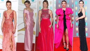 BAFTA Awards 2020: Scarlett Johansson, Renee Zellweger, Emilia Clarke lead the pack of Best Dressed, Florence Pugh and Margot Robbie Disappoint!