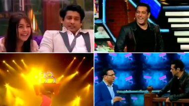 Bigg Boss 13 Somvaar Ka Vaar Preview: Rajat Sharma Quizzes Salman Khan With a Shaadi Question and Catch the First Glimpse of the Winner's Trophy (Watch Video)