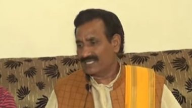UP BJP MLA Ravindra Nath Tripathi, 6 Others Booked for Raping Woman in Bhadohi