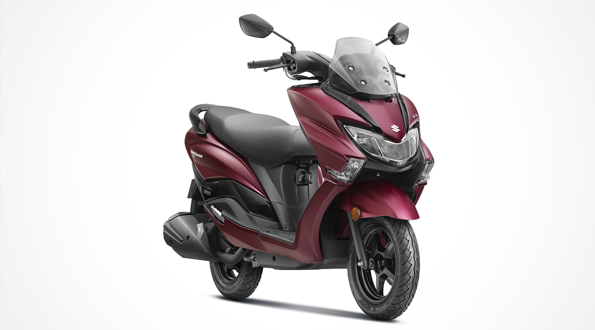 BS6 Suzuki Burgman Street 125 Scooter With New Features Launched; Priced in India at Rs 77,900