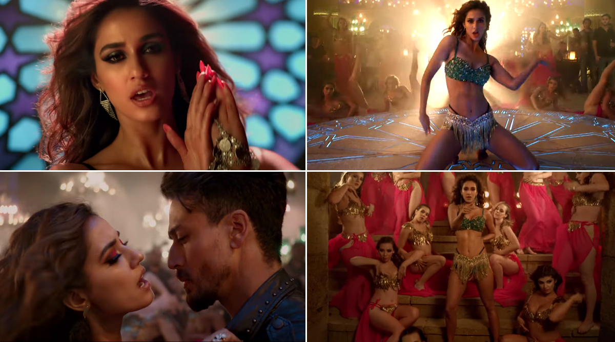 Baaghi 3 Song Do You Love Me: Disha Patani Looks Like a Sexy Siren But Why Isn't Tiger Shroff Shaking A Leg With Her? (Watch Video)