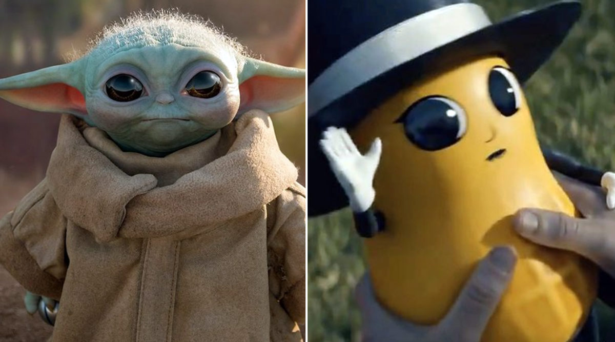 Baby Nut Or Baby Yoda Super Bowl Liv Mr Peanut Commercial Divides The Internet On Who Is Cuter Latestly