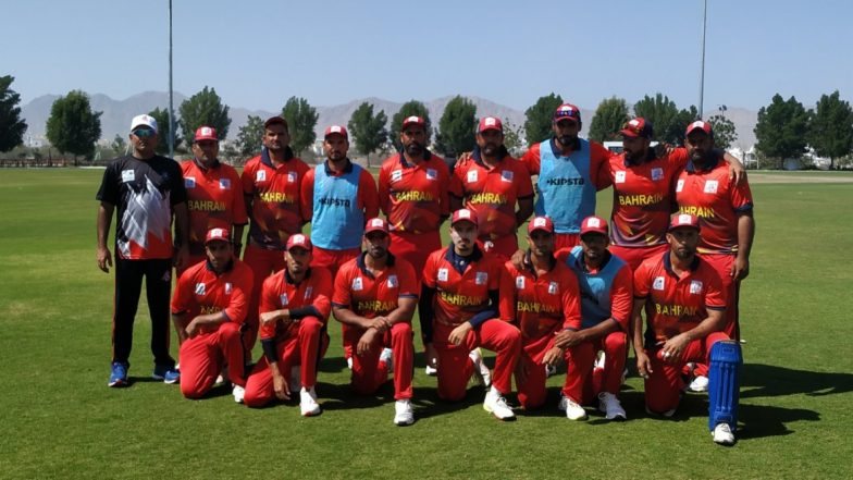 Live Cricket Streaming of Bahrain vs Kuwait, T20 2020 Online: Watch Free Live Telecast of ACC Western Region Series BAH vs KUW Semi-Final Match