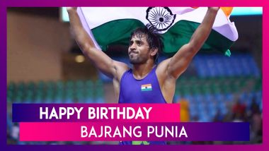 Happy Birthday Bajrang Punia: Lesser Known Facts About Asian Games Gold-Medallist Indian Wrestler