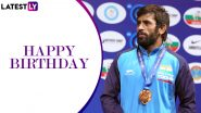 Bajrang Punia Birthday Special: Interesting Facts About the Indian Wrestling Superstar As He Turns 26