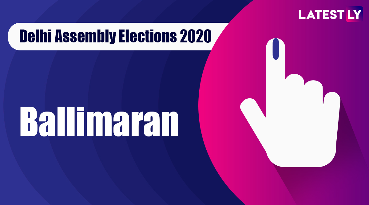 Ballimaran Election Result 2020: AAP Candidate Imran Hussain Declared Winner From Vidhan Sabha Seat in Delhi Assembly Polls