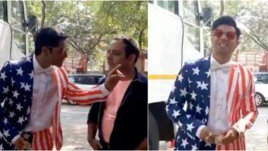 Varun Dhawan's Coolie No 1 Character Kunwar Mahinder Pratap Invites 'Childhood Friend' Donald Trump for a 'Pav Bhaji' Dinner in This Hilarious Video