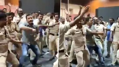 Bengaluru City Police Officers Enjoying Their Dance Class Will Leave You With a Smile (Watch Video)