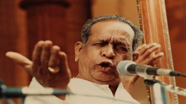 Bhimsen Joshi 98th Birth Anniversary: Interesting Facts About Renowned Hindustani Classical Vocalist