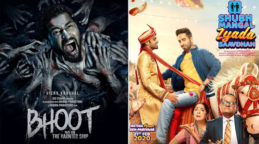 Shubh Mangal Zyada Saavdhan Vs Bhoot Box Office Collection Day 1: Ayushmann Khurrana's Gay Love Story Earns Rs 9.55 Crore And Beats Vicky Kaushal's Film