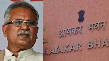 Chhattisgarh: Income Tax Raids on CM Bhupesh Baghel's Aide Lead to Political Tensions, Congress Accuses BJP of Playing 'Vengeful Politics'