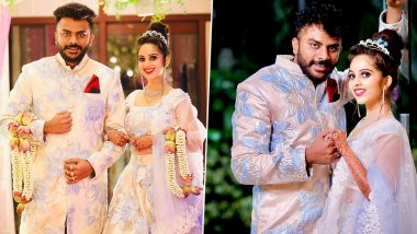 Niveditha Gowda and Chandan Shetty Wedding: Former Bigg Boss Kannada 5 Contestants to Tie the Knot Today!