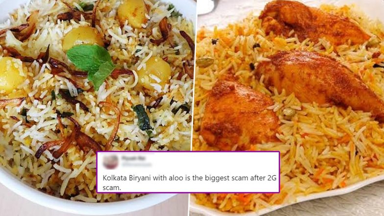 Biryani With Aloo or No Aloo? Tweet Sparks Debate Among Foodies Deciding Which is The Best One