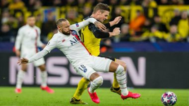 Borussia Dortmund 2–1 PSG, UEFA Champions League 2019–20: Erling Haaland Brace Gives German Side the Edge After First Leg