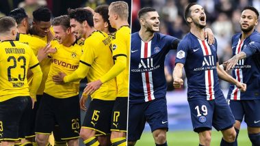 Borussia Dortmund vs Paris Saint-Germain, UEFA Champions League Round of 16 Live Streaming Online: Where to Watch BOR vs PSG UCL 2019–20 Match Live Telecast on TV & Free Football Score Updates in Indian Time?