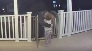 Little Boy Hugs Pizza Delivery Man Not Knowing He Recently Lost His Daughter (Watch Video)