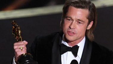 Oscars 2020: Brad Pitt Reveals He Wrote His Own Acceptance Speech on Winning the Best-Supporting Actor Award