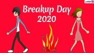 Break Up Day 2020 Images And Wallpaper: WhatsApp Stickers And GIF Images to Observe Anti-Valentine Week