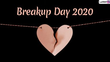 Break-up Day 2020 Messages And Greetings: Wishes, Quotes, HD Images And SMS to Send on The Last Day of Anti-Valentine's Wee