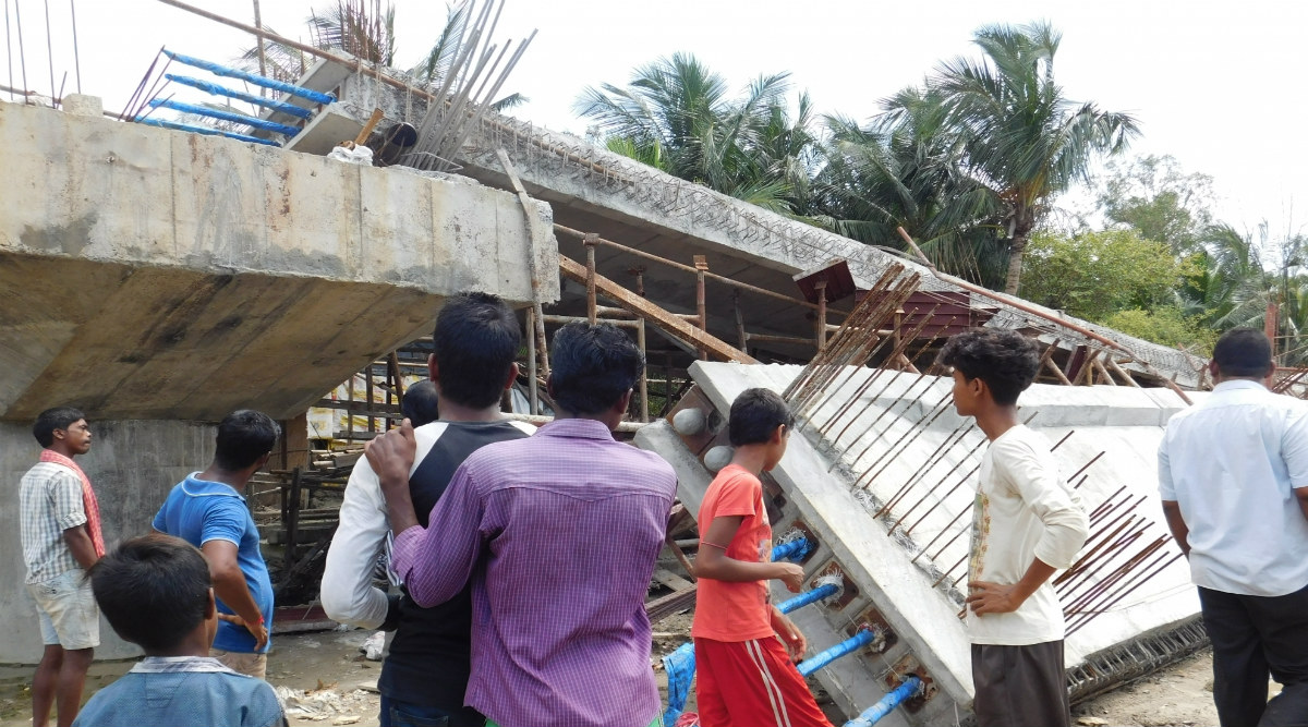 West Bengal: Under-Construction Farakka Bridge Collapses in Malda District, Three Dead