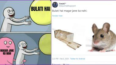 'Bulati Hai Magar Jaane Ka Nahi' Funny Memes Go Viral, Check Hilarious Jokes on Internet's Latest Trend