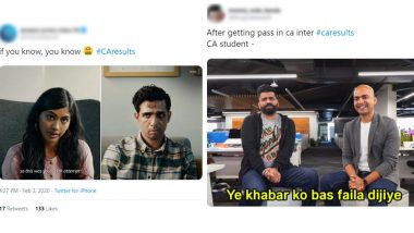 CA Results 2019–20 Are Out and So Are the Memes! Funny Jokes Take Over Twitter As ICAI Declares CA Foundation and Intermediate Merit List