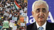 Supreme Court's Bid to Mediate Between Shaheen Bagh Protesters and Government Must be Welcomed, Says Congress' Salman Khurshid